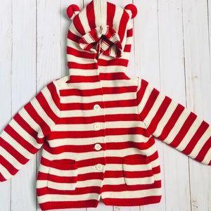 BabyGap 🐻 Bear Ears Knitted Jacket